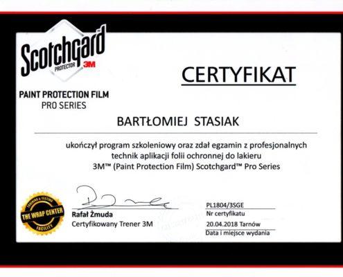 Certyfikat PPF